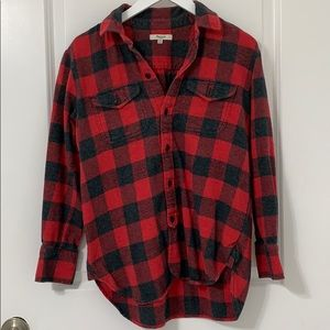 Madewell flannel button-down